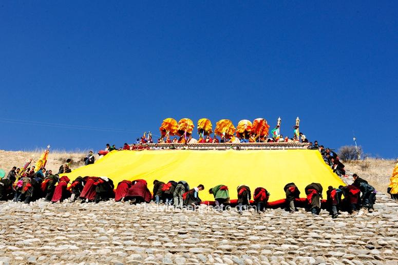 sunning the great buddha