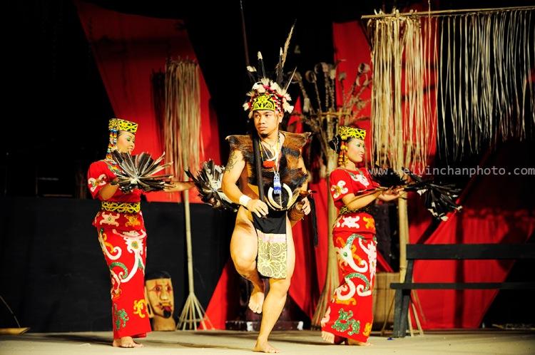 Sarawak native dancer