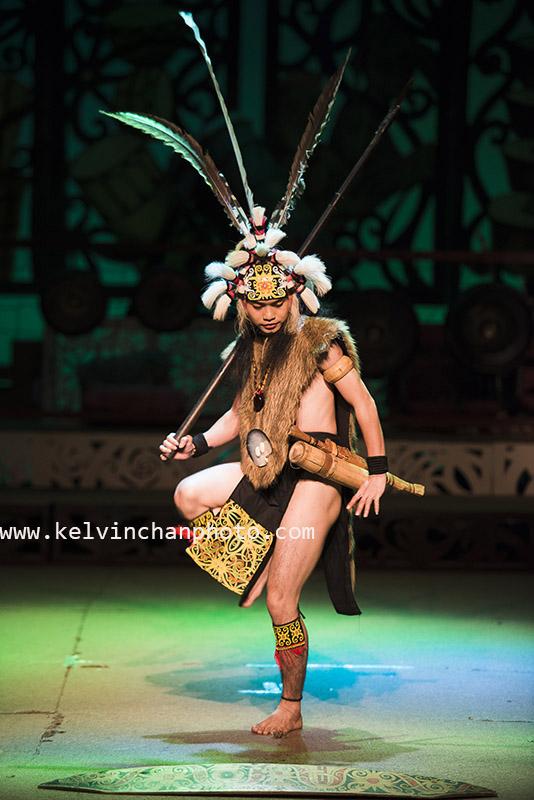 Sarawak native dance