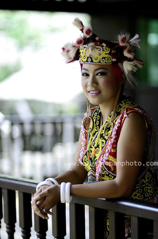 Sarawak dancer
