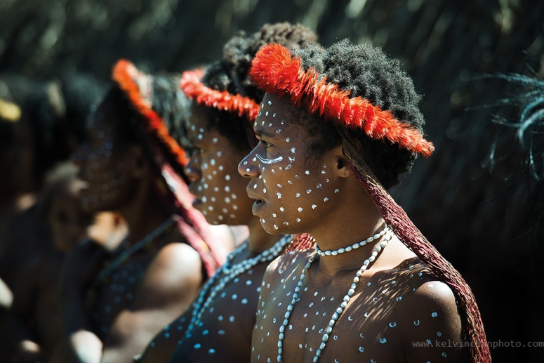 papua dani tribe women