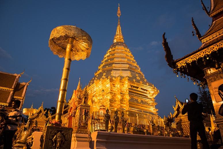 wat suthep, Chiang Mai