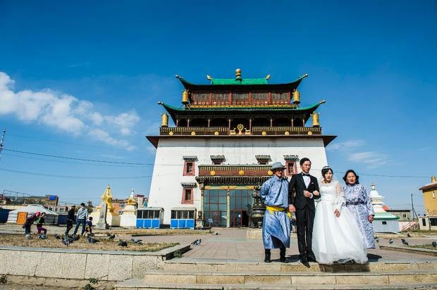 Gandantegchinlen Monastery.