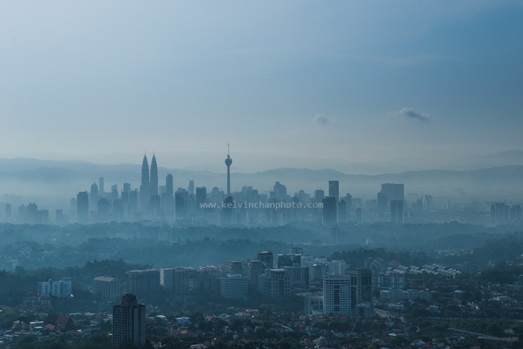 KL city skyline