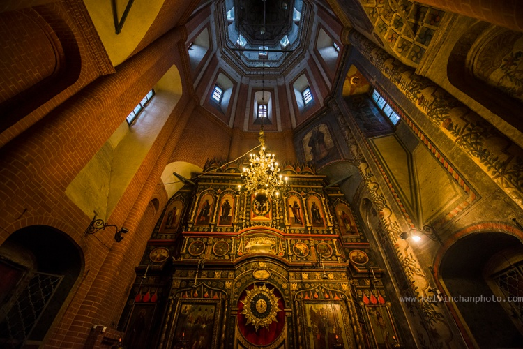 inside of Saint Basil's Cathedral