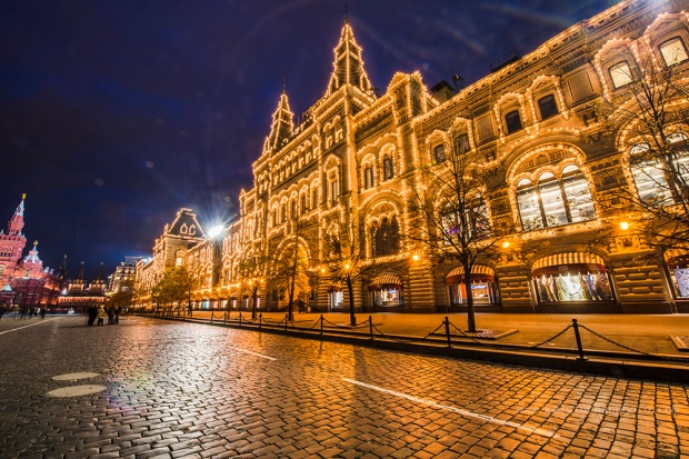 State Department Store, GUM, Red Square, Moscow
