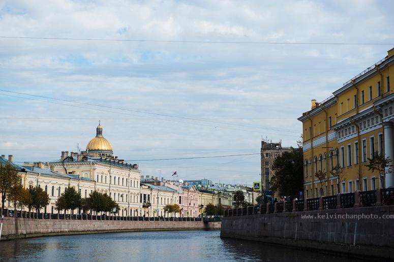 Water way of Saint Petersburg