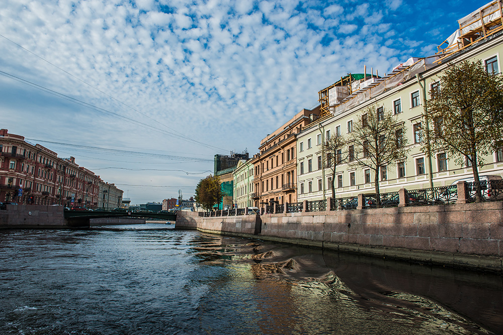 river cruise of Saint Petersburg