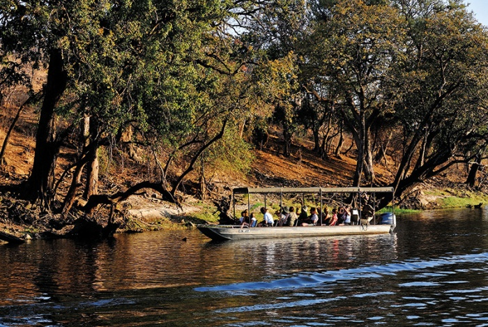 River cruise at Chobe National Park, Botswana