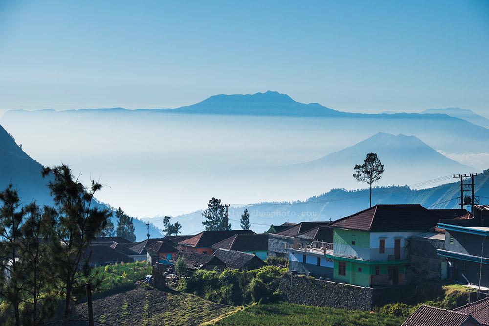morning at Mount bromo village