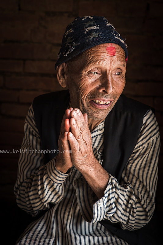 Portrait of a Nepalese