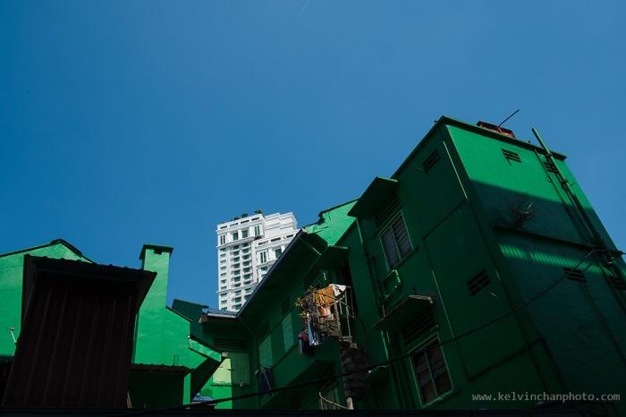 street scene around Bukit Bintang and Imbi Road