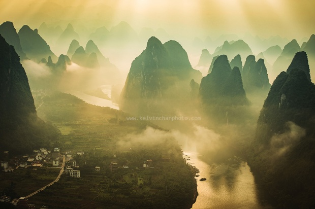 dawn at Guilin