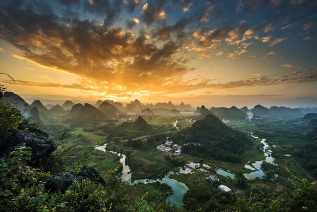 sunrise guilin