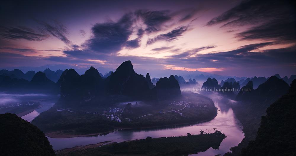 dawn at Guilin