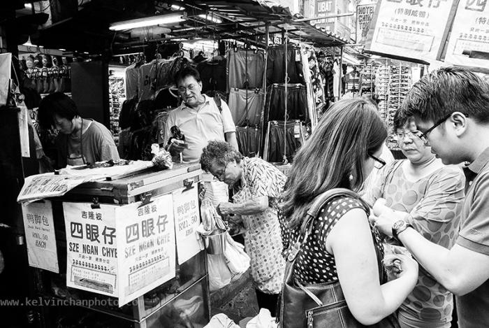 Roast duck stall in Petaling Street, KL