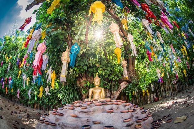 loy krathong festival in Chiangmai