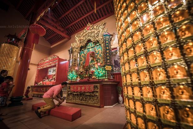 Chinese New Year at Guan Di Temple at KL China town