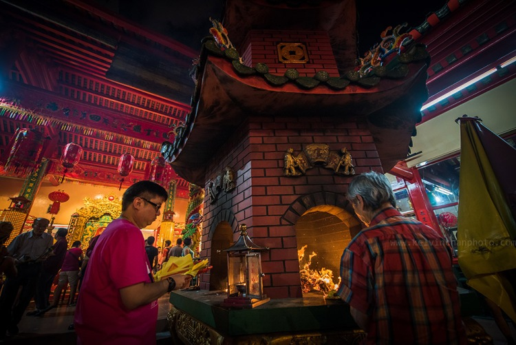 Chinese New Year at Guan Di Temple at KL China town