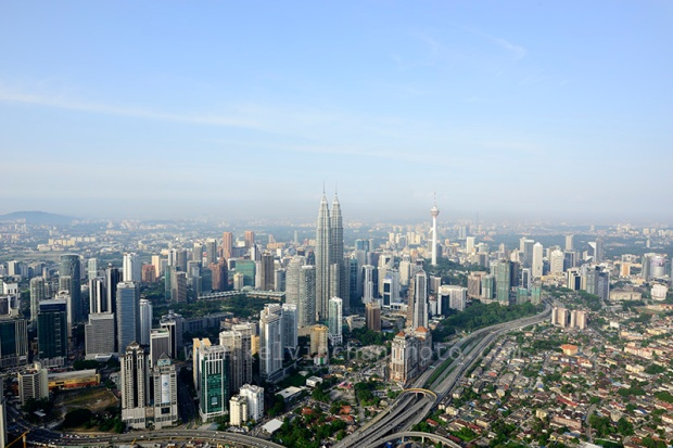KL city skyline