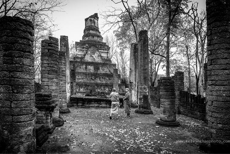Wat Rahu, Si Satchanalai Historical Park, Thailand