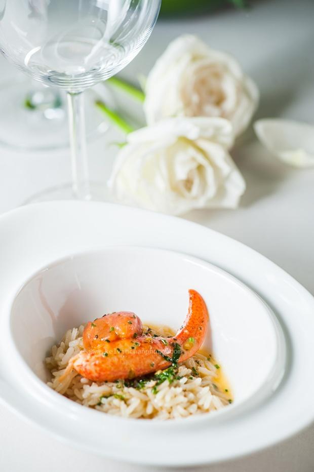 lobster craw risoto