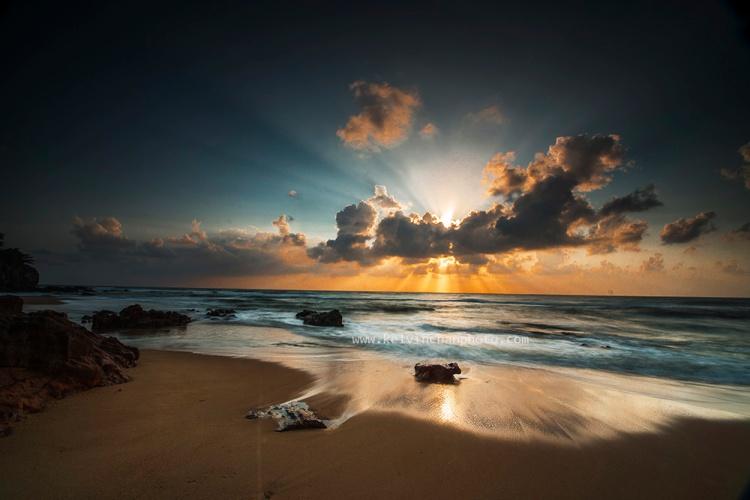 Sunrise at Pantai Kemasik, Terengganu, Malaysia