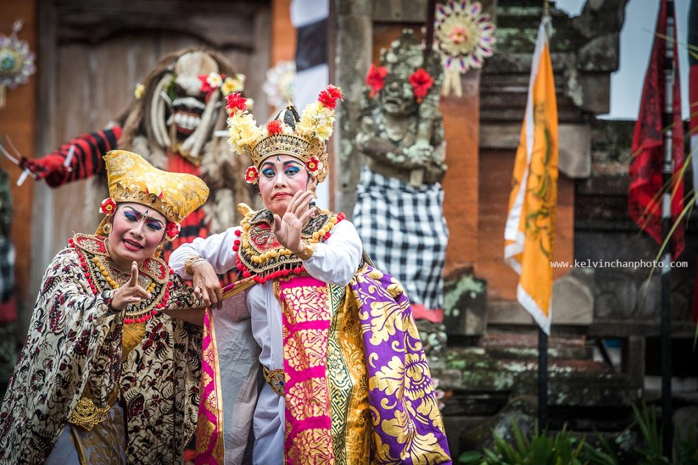 Barong Dance in Batu Bulan
