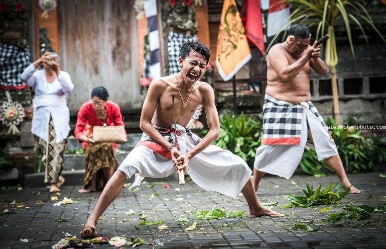 Barong Dancein Batu Bulan