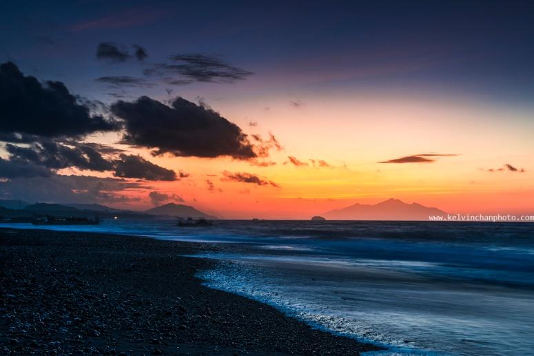 sunrise at Kusamba, bali