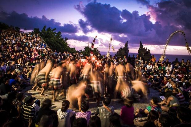 Kecak dance at Uluwatu, Bali