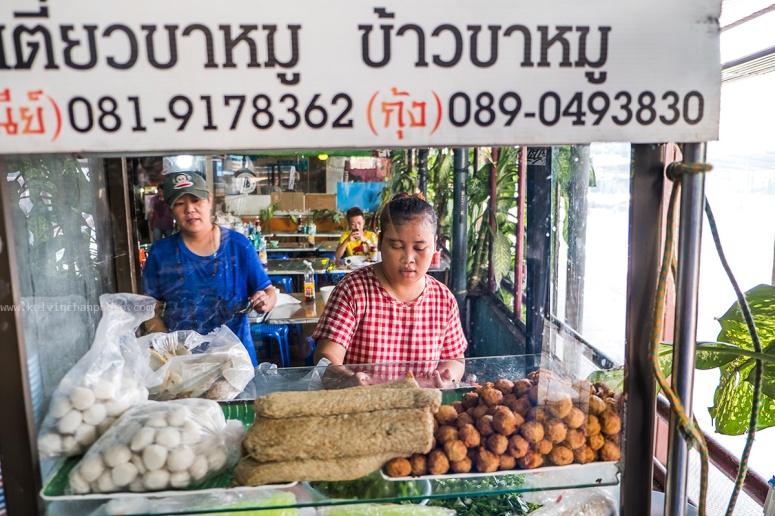 Bangkok food hawker